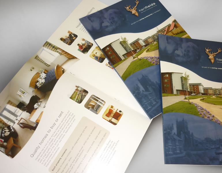 Joseph Rountree Housing Foundation Logo design, advertising, branded literature, leaflets, brochures and folders