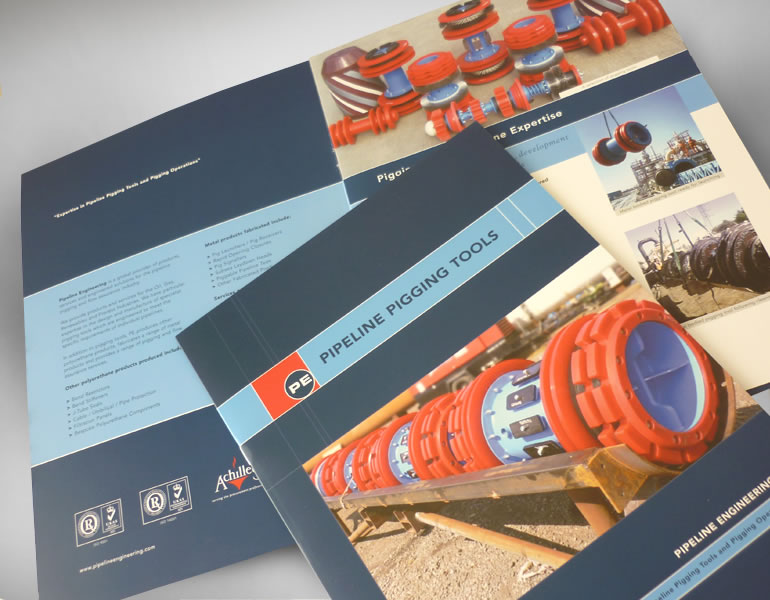 Circor / Pipeline Engineering Logo design and branding, stationery, literature and exhibition display