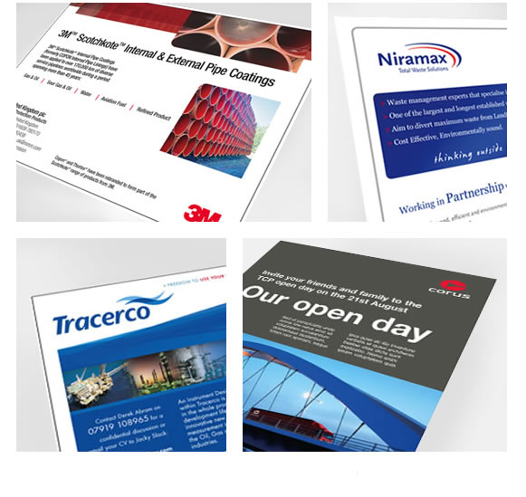Corporate and Sales Advertising design