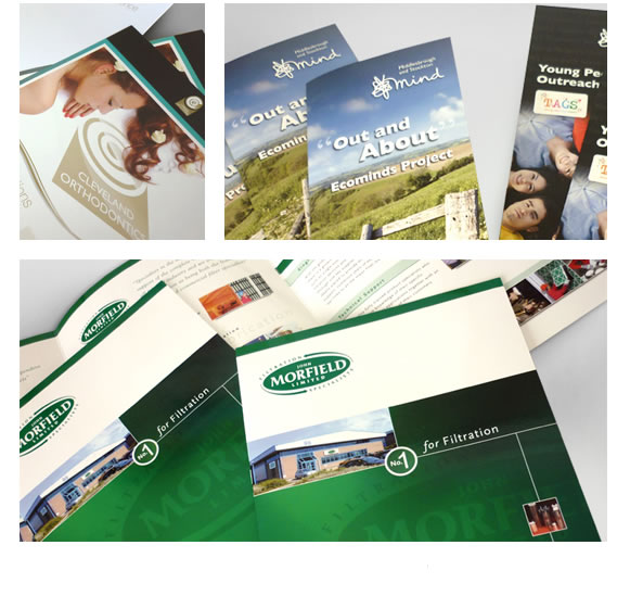 Brochures, Leaflets and Corporate and Marketing Literature design