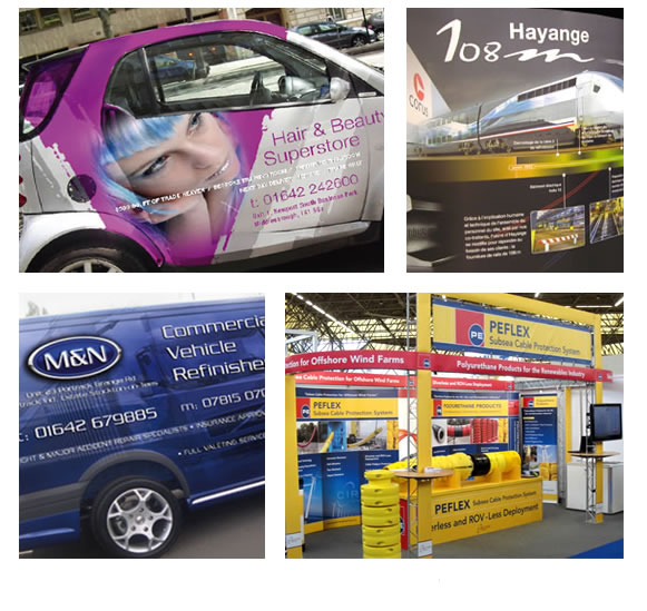 Displays, Signage and Vehicle Livery
